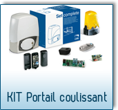 CAME kit portail coulissant